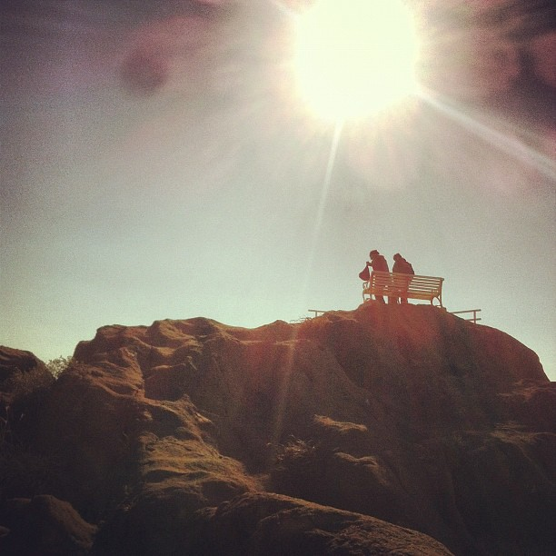 Lovers on the top at the southernmost.