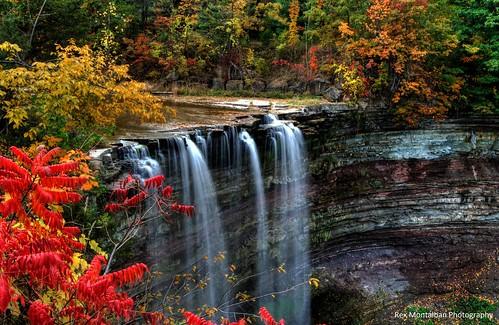 autumn fall colours niagara waterfalls hdr vineland ballsfalls photomatix ballsfallsconservationarea 9exp 101508 nikond40x rexmontalbanphotography foundinanolderfile
