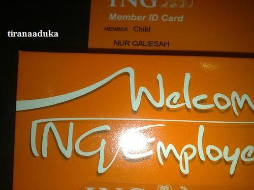 ING CARD MEMBER by tiranaaduka@ymail.com