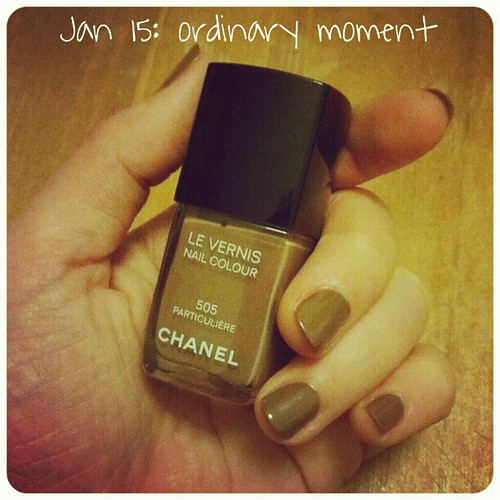 Jan 15: an #ordinary #moment .. painting #nails .. #fmsphotoaday