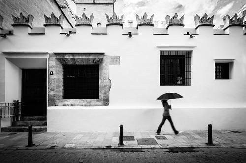 Paraguas: Nubes y claros