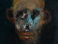 <strong>NIYAZ NAJAFOV | DANCING ON BONES - </strong> <br />Niyaz Najafov, Portrait (V), Oil on canvas, 35 cm x 27 cm