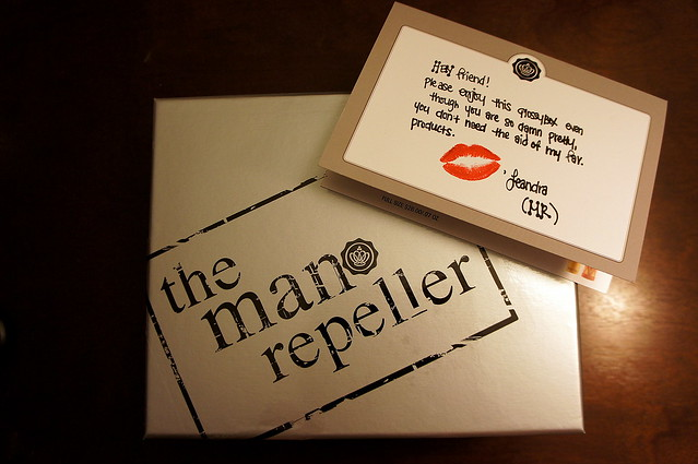 Glossybox USA x Man Repeller
