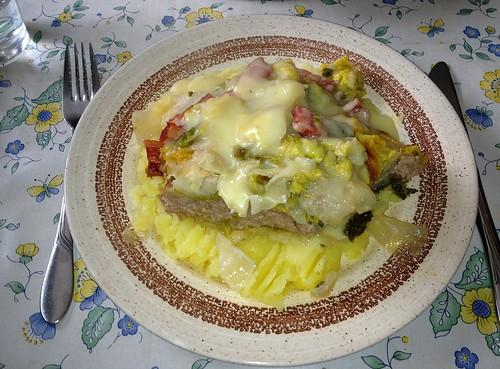 Gefülltes Kraut / Stuffed cabbage - serviert