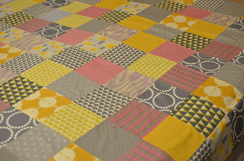 Room for Squares Quilt Top