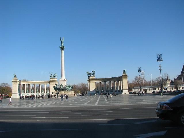 Piața Millenium Budapesta 2012