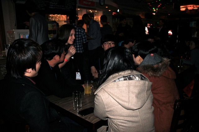 International Party at Lzone Cafe in Busan (Pusan) 25th January-56