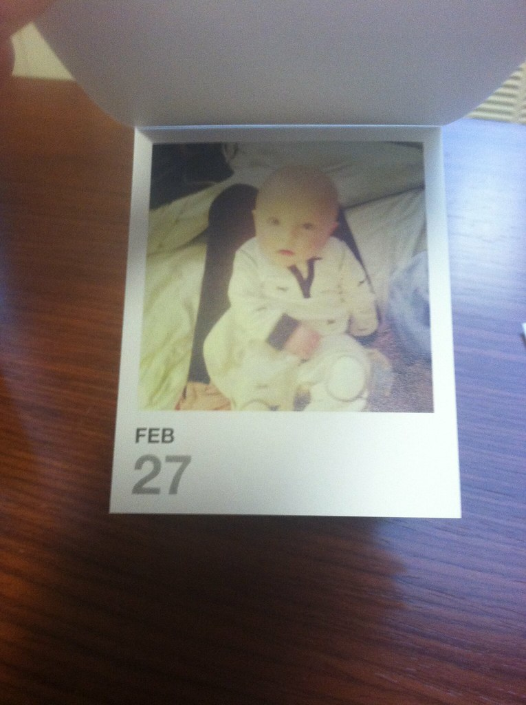 instagram photo calendar and gratitude journal