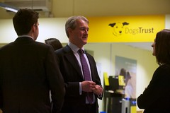 Owen Paterson at Dogs Trust
