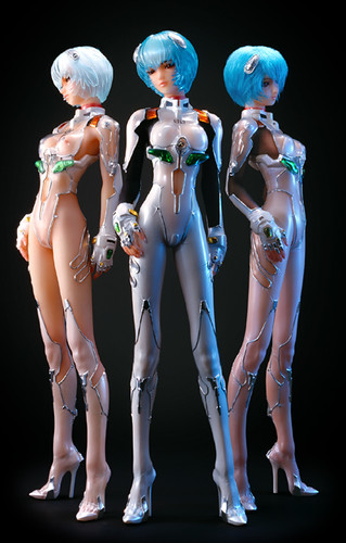 Ayanami Rei by Cyber-Dyne Solid.