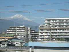 Powerlines were a feature of Japan - along with futons hung to air from apartment blocks