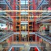Inside the BBC: the lift shaft and the atrium