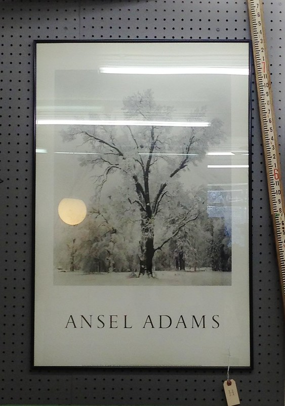 black & white print by ansel adams