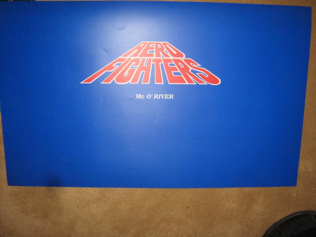 Aero Fighters (NOS) Control Panel Overlay | Darryl | Flickr