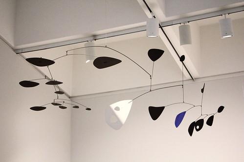 One of Alexander Calder's mobiles