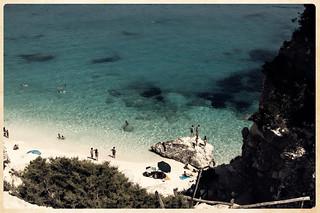 Bild von Cala Goloritzè. sardegna trip travel sea vacation praia beach italia mare playa viaggi spiaggia holydays vacanze golfodiorosei calagoloritzè