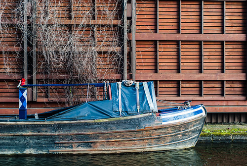 Great Union Canal boat, Paddington, London - #36/365 by PJMixer