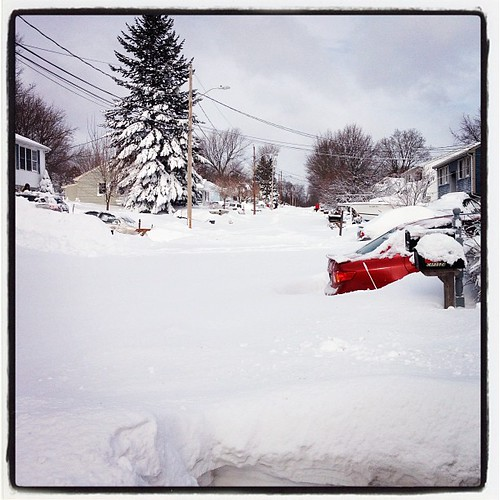 My street. #blizzard #nemo