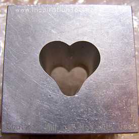 heart optic mold