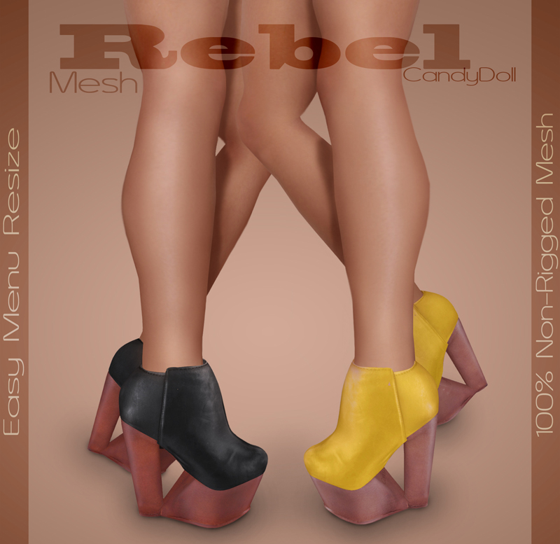 Rebel Shoes Out Now