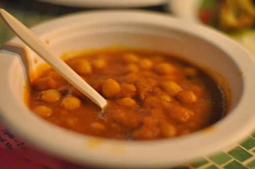 Chana Masala from G'Raj Mahal