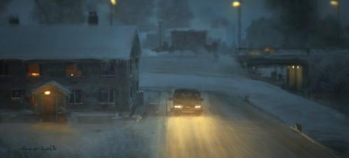 Procreate Tutorial - Winter Volvo