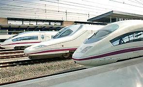 AVE train, Spain