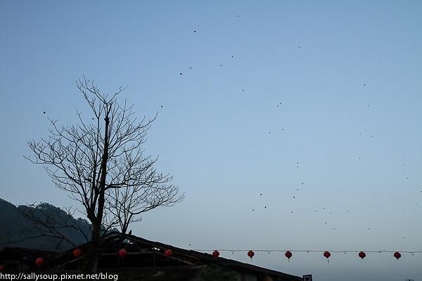 20130214 放天燈
