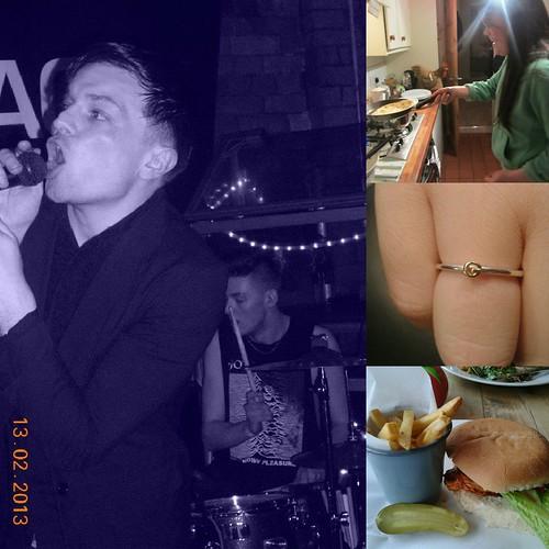 burger, chapman family, panackes daisy ring