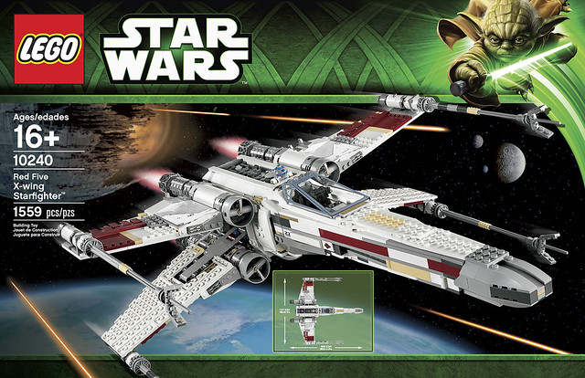 10240 Red Five X-wing Starfighter