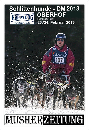 DM Schlittenhunderennen Oberhof 2013 Sprint, German sled dog racing championship sprint 2013, helmut-dietz-photo