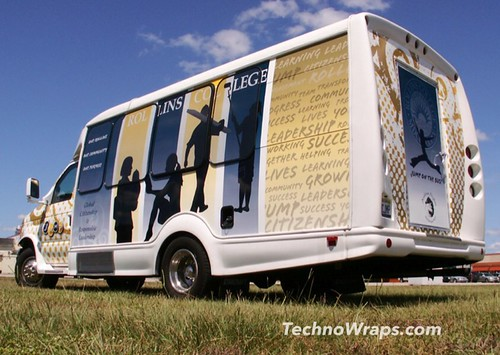 Orlando Florida Shuttle bus wrap