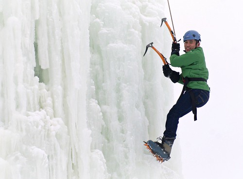 Ice climbing anyone?