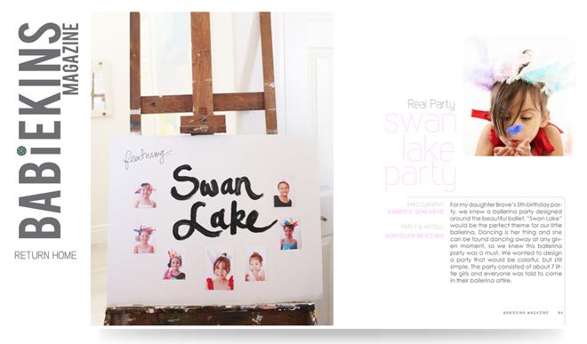 swan lake birthday