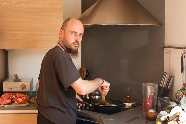 na cociña