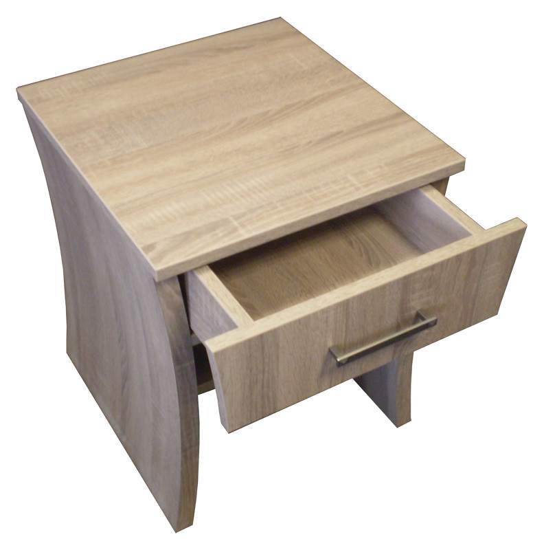 Curved Bedside Cabinet Open    a. Hotel Furniture Supplier   Contemporary Hotel Furniture   Hotel Beds