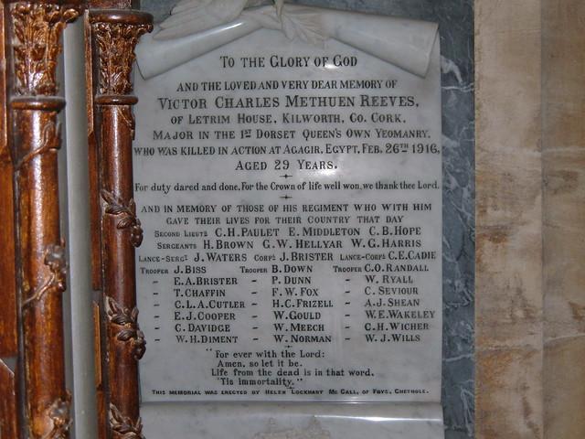 15. Chetnole Memorial