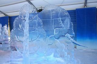Ottawa Winterlude Ice Sculpture