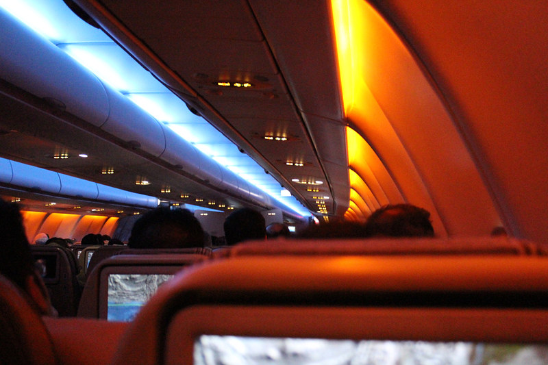 Airlinetrends mood lighting aviation