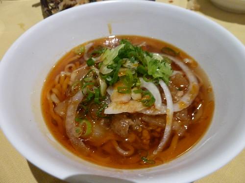 勝浦タンタン麺 @ ブルーベリーヒル勝浦