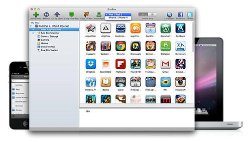 【Mac】i-FunBoxを使ってiPhoneの中を覗いてみた【Windows】