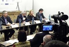 El seminario sobre economía digital se grabó en video