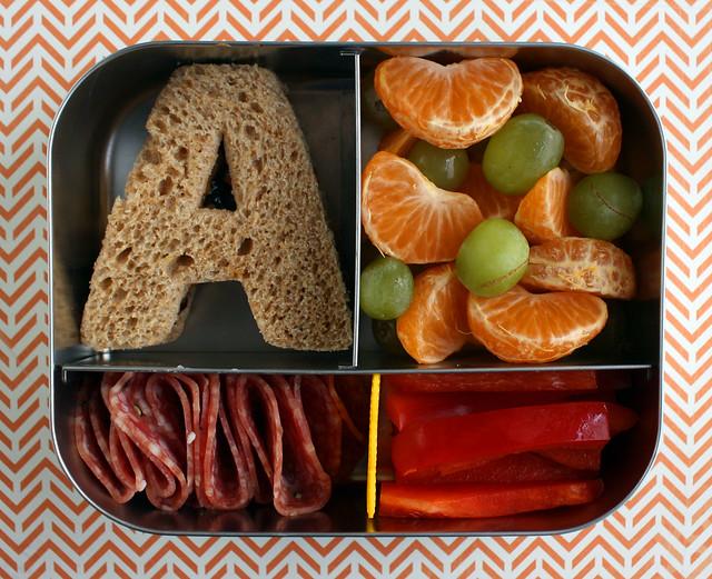 Preschool Alphabet Bento #407