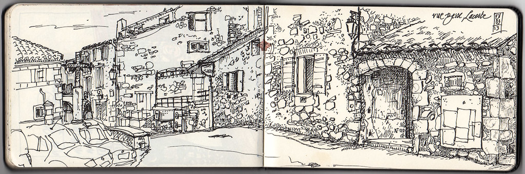 Rue Basse, Lacoste, Provence
