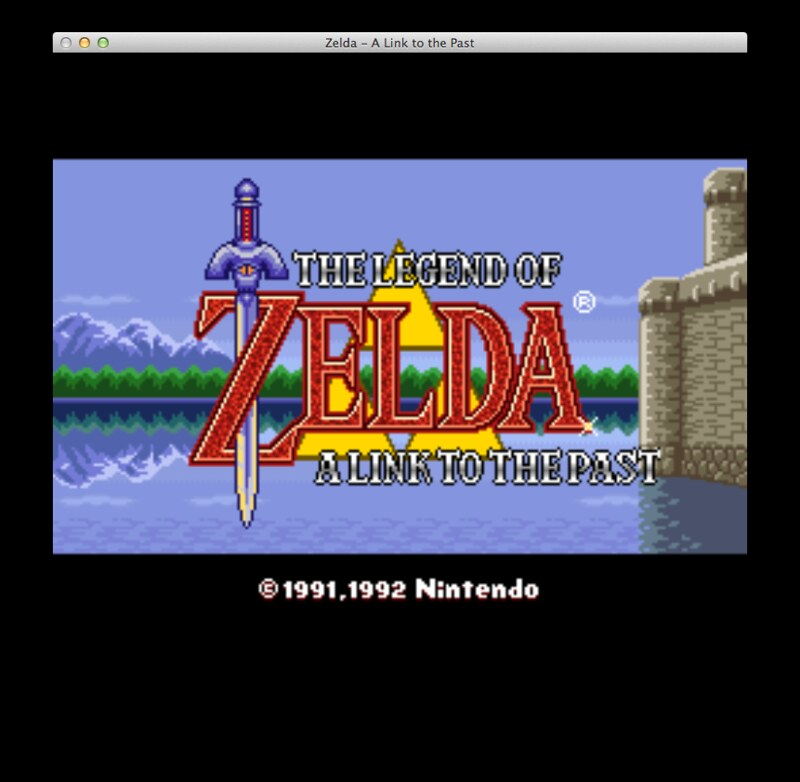 SNES9X SNES emulator for OS X