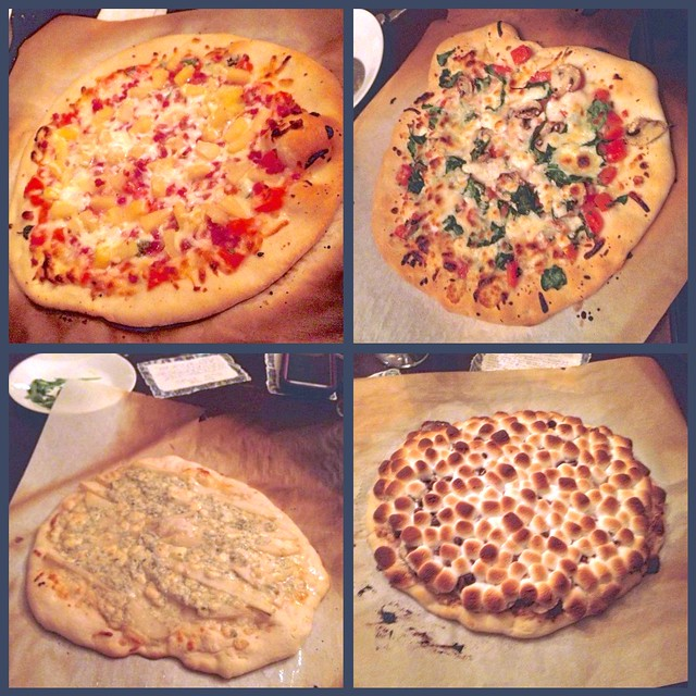 Pizzas 5-8