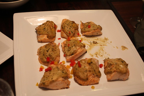 Tarragon Mustard Roasted Salmon