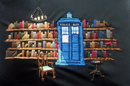 The TARDIS at Spinner's End