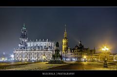 Dresden by Night - Hofkirche