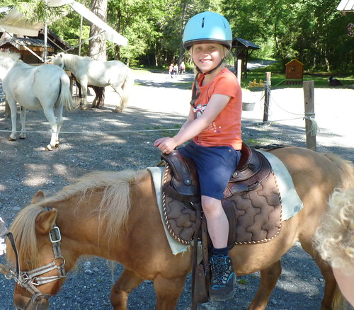 Pony rides in the stunning 'Fer a Cheval'